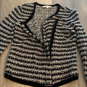 LOFT Sweaters - Zip up cardigan